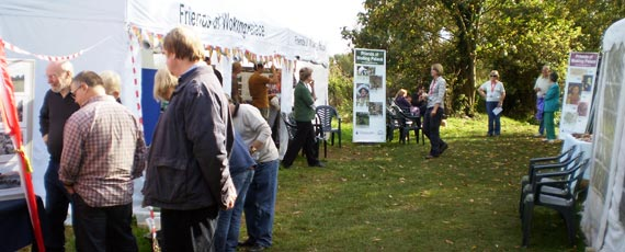 Open Day 2013<br />Glorious weather, site tours<br />and display stands