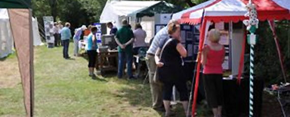 Stalls and stands<br />Information and activities